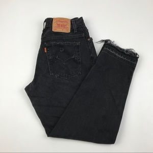 Vintage Levi's Sign Up Orange Tap List/Requests